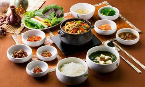comida em seoul